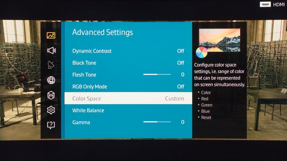 Samsung JS9000 Calibration Settings 3