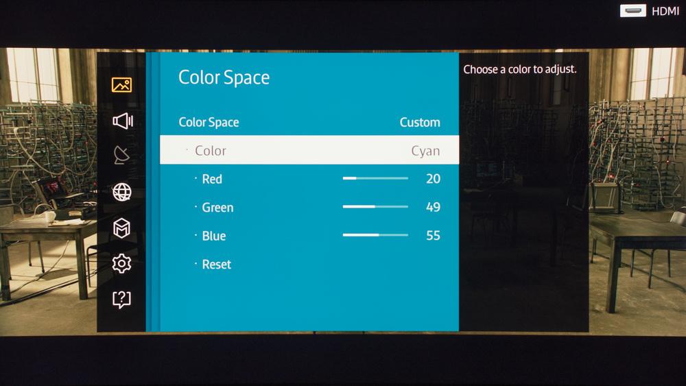 Samsung JS9000 Calibration Settings 8