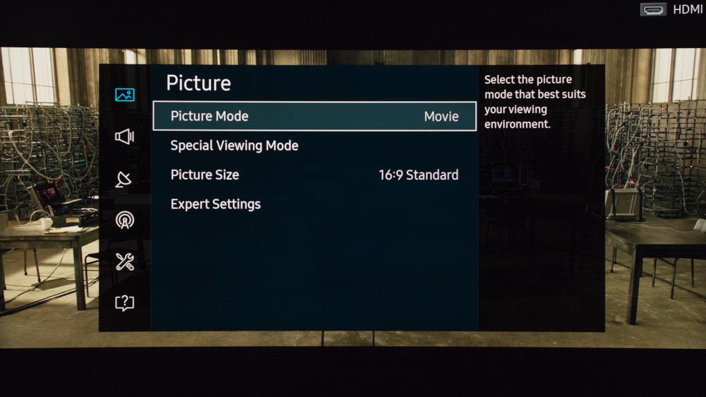 Samsung KU7500 Calibration Settings 2
