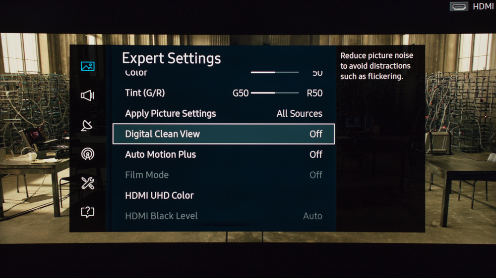 Samsung KU7500 Calibration Settings 5