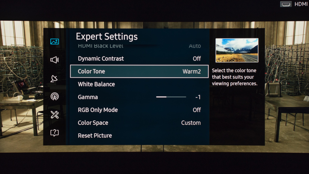 Samsung KU7500 Calibration Settings 7