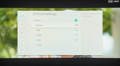 Samsung NU8500 Calibration Settings 14