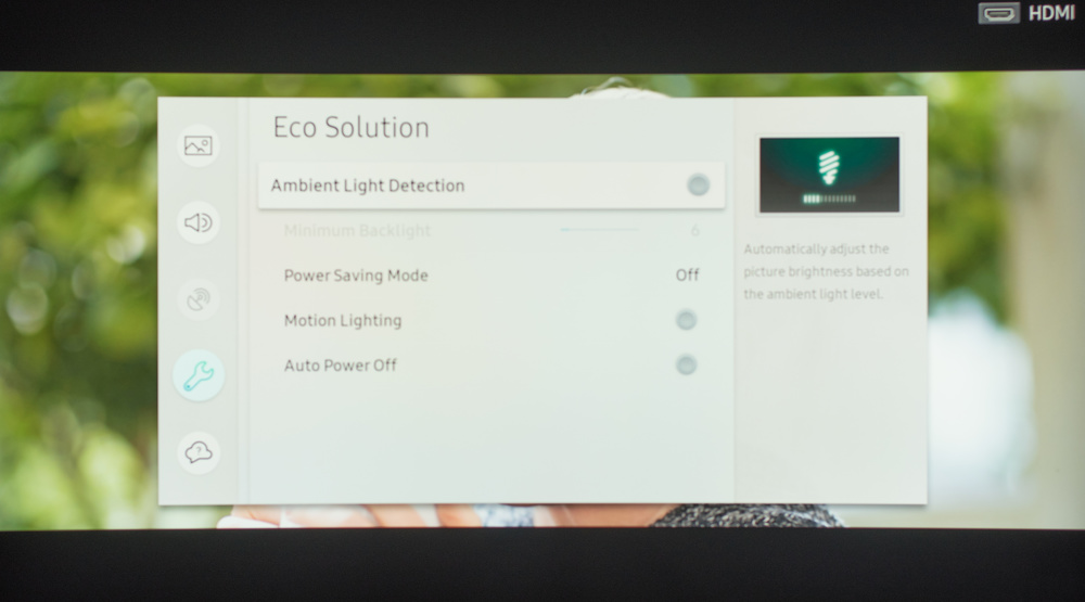 Samsung NU8500 Calibration Settings 38