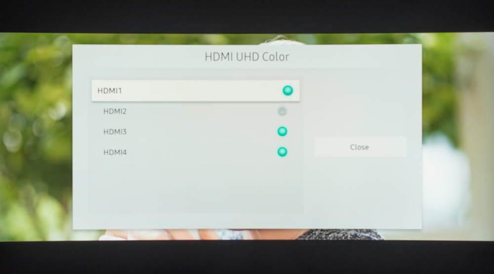 Samsung NU8500 Calibration Settings 39