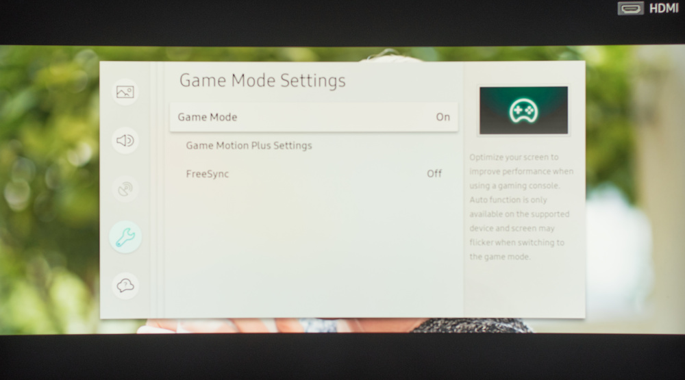 Samsung NU8500 Calibration Settings 40