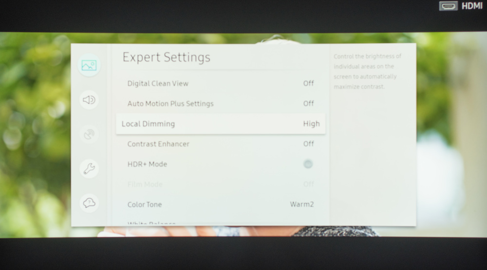 Samsung NU8500 Calibration Settings 6