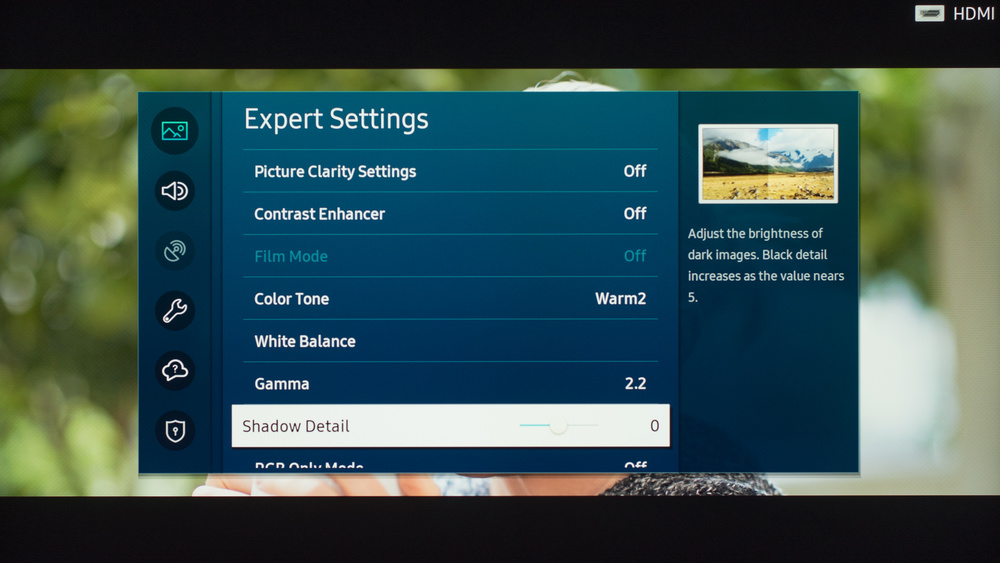 Samsung Q70/Q70T QLED Calibration Settings 10