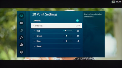 Samsung Q70/Q70T QLED Calibration Settings 25