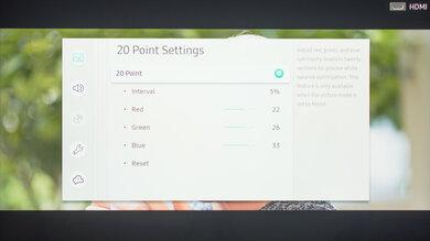 Samsung RU9000 Calibration Settings 33