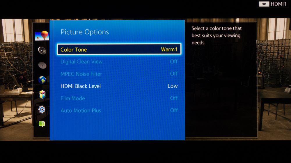Samsung H6400 Calibration Settings 5