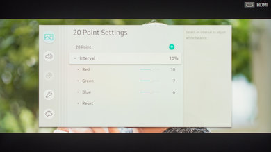 Samsung Q7FN/Q7/Q7F QLED 2018 Calibration Settings 20