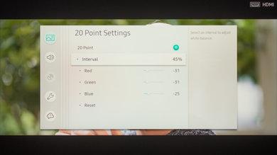 Samsung Q9F Calibration Settings 18