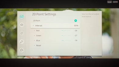 Samsung Q9F/Q9 QLED 2017 Calibration Settings 20