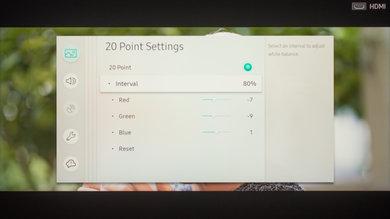 Samsung Q9F Calibration Settings 25