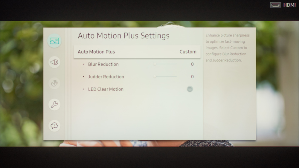Samsung Q9F/Q9 QLED 2017 Calibration Settings 7