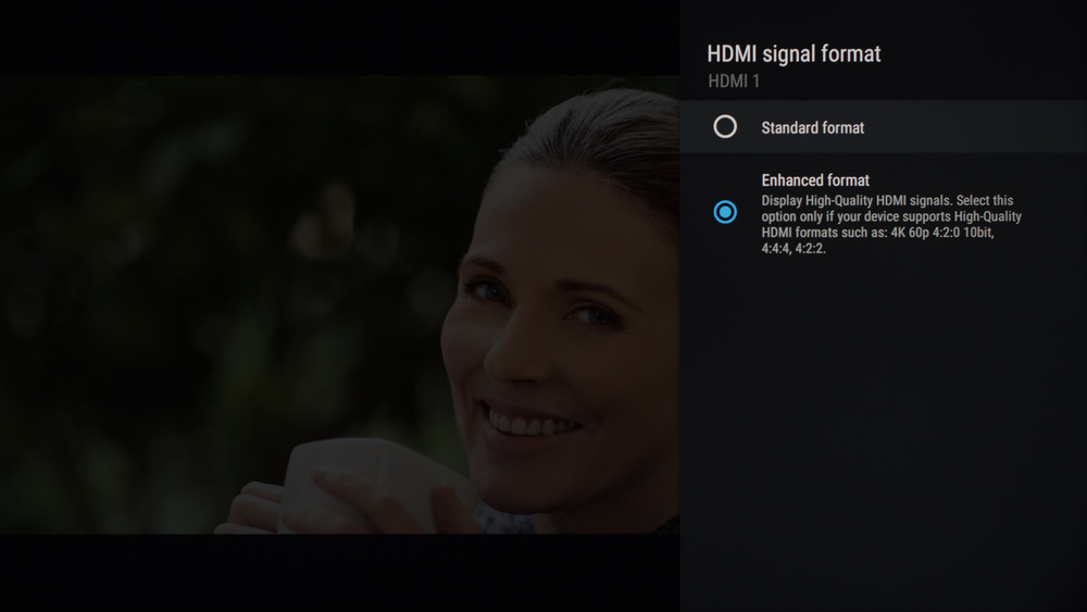 Sony X950H Calibration Settings 8
