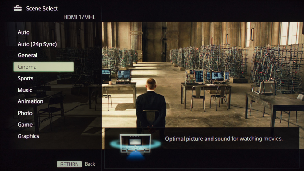 Sony W630B Calibration Settings 8