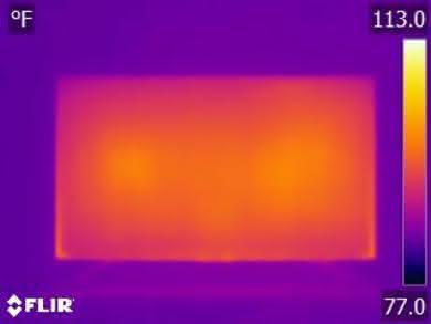 Sony X750F Temperature picture