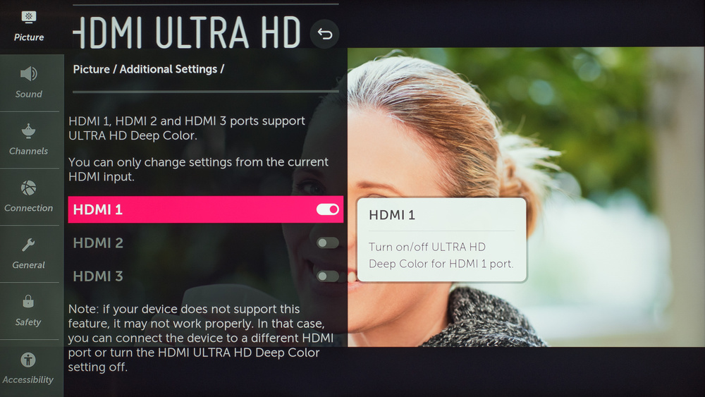 LG UM6900 Calibration Settings 19
