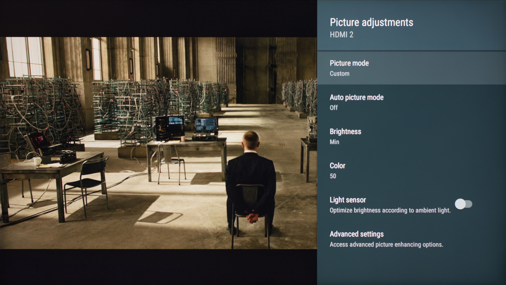Sony X800E Calibration Settings 1