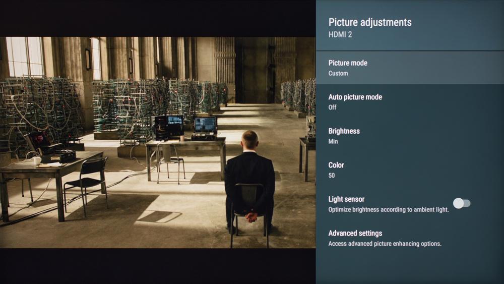Sony X800E Calibration Settings 1