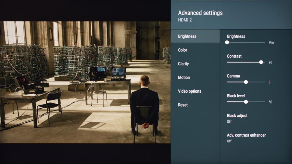 Sony X800E Calibration Settings 2
