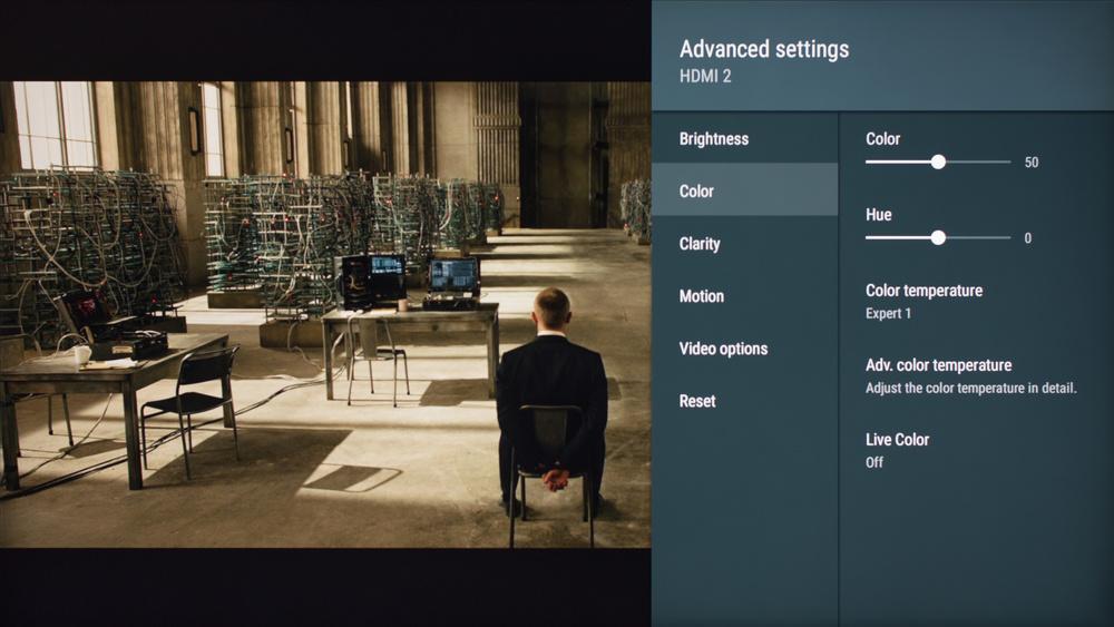 Sony X800E Calibration Settings 3
