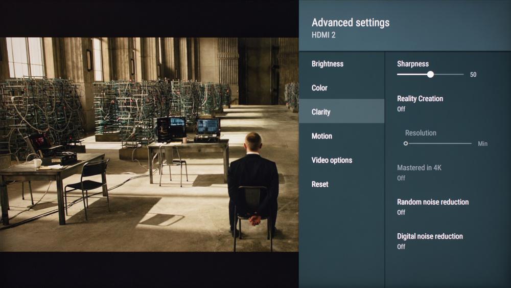 Sony X800E Calibration Settings 4