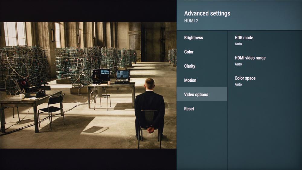 Sony X800E Calibration Settings 6