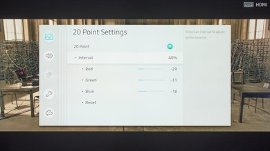 Samsung MU6300 Calibration Settings 17