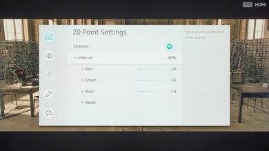 Samsung MU6300 Calibration Settings 17