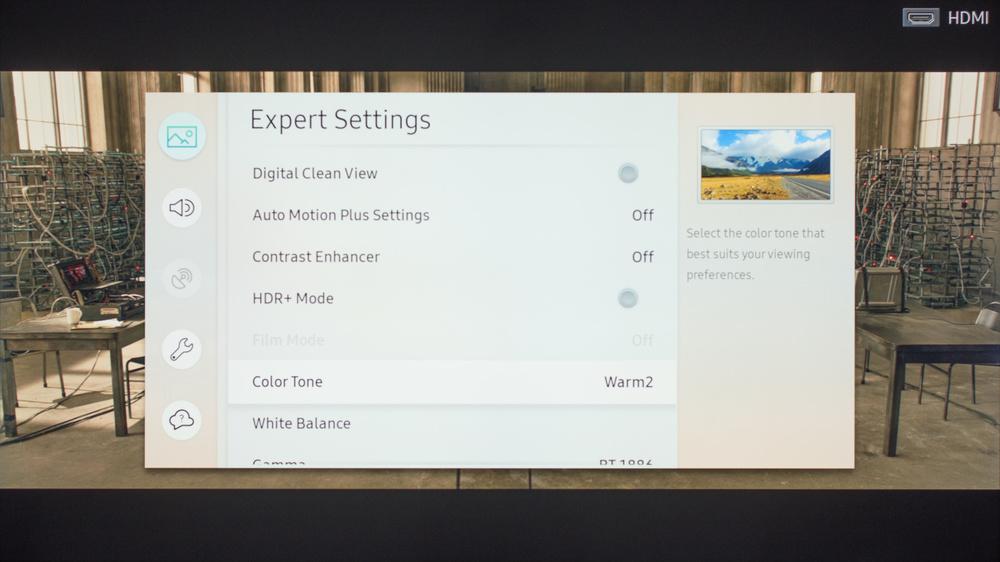 Samsung MU6300 Calibration Settings 6