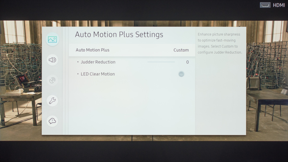 Samsung MU6300 Calibration Settings 8
