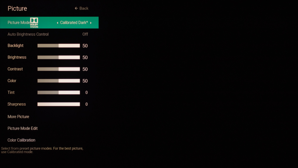 Vizio P Series Quantum 2019 Calibration Settings 39