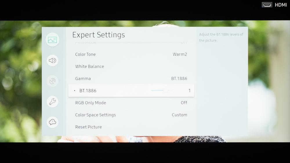Samsung NU7100 Calibration Settings 11