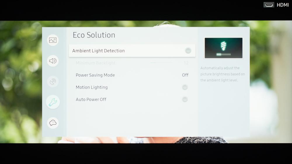 Samsung NU7100 Calibration Settings 42