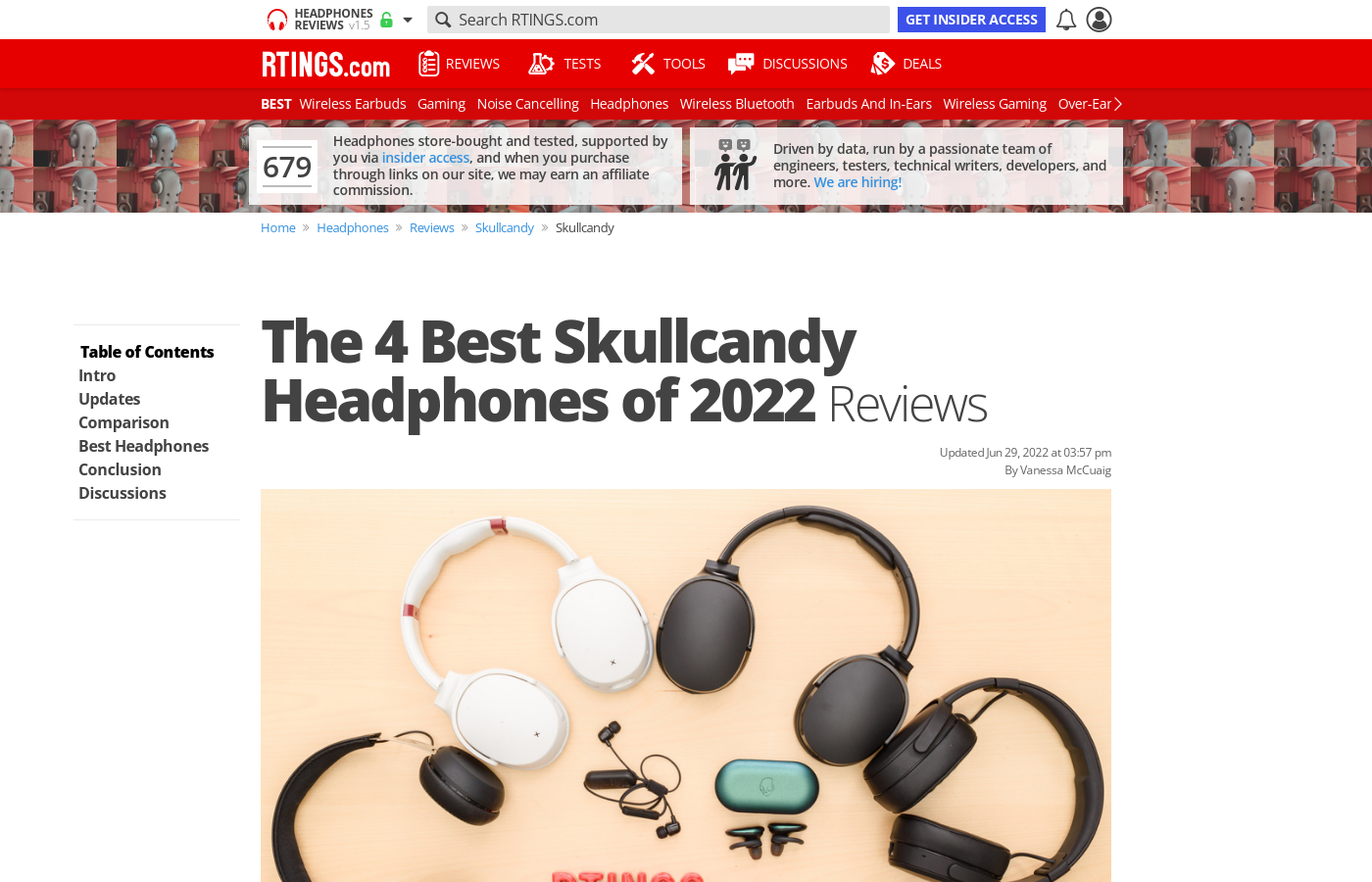 7c3d5cce5a0 The Best Skullcandy Headphones of 2019: Reviews - RTINGS.com