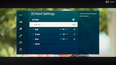 Samsung Q800T QLED Calibration Settings 35