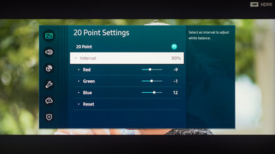 Samsung Q800T QLED Calibration Settings 43