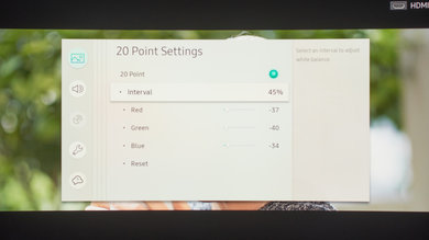 Samsung Q8C/Q8 QLED 2017 Calibration Settings 24