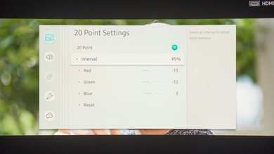 Samsung Q8C/Q8 QLED 2017 Calibration Settings 34