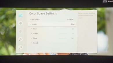 Samsung Q8C/Q8 QLED 2017 Calibration Settings 38