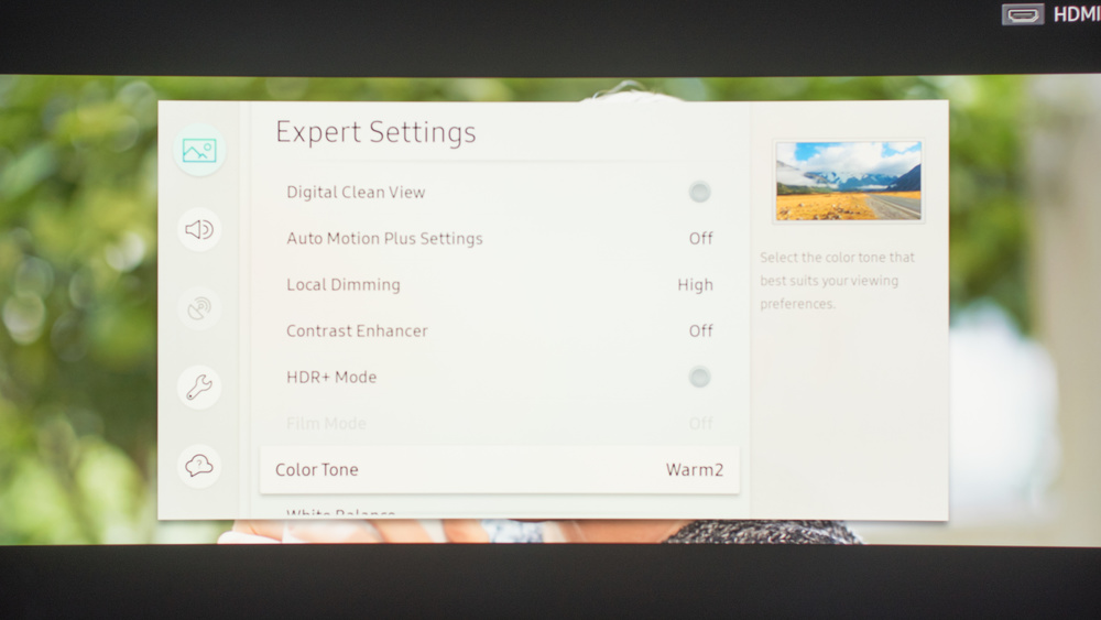 Samsung Q8C Calibration Settings 8