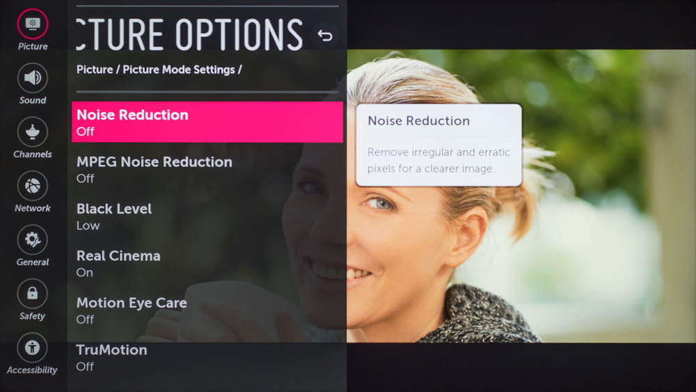 LG UK6570 Calibration Settings 41