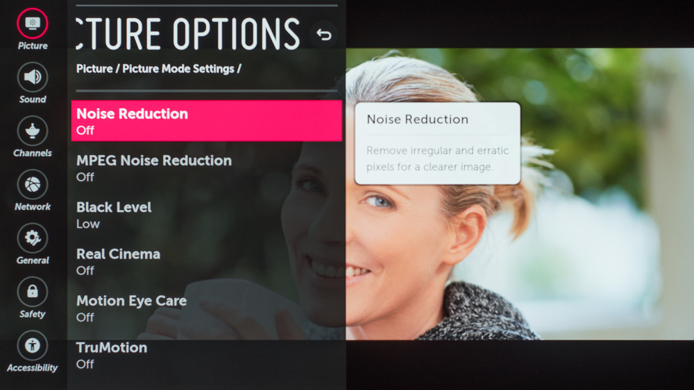 LG E8 OLED Calibration Settings 50