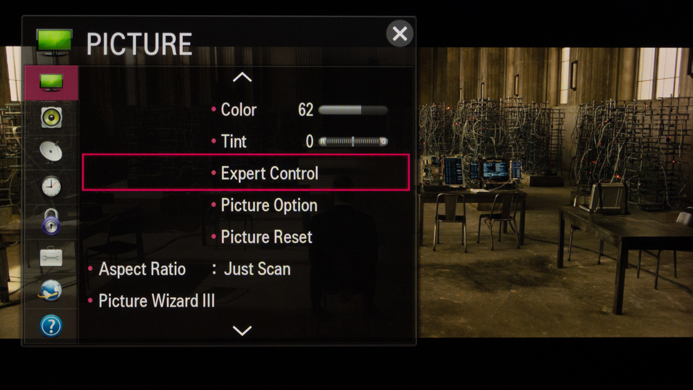 LG LB5800 Calibration Settings 2