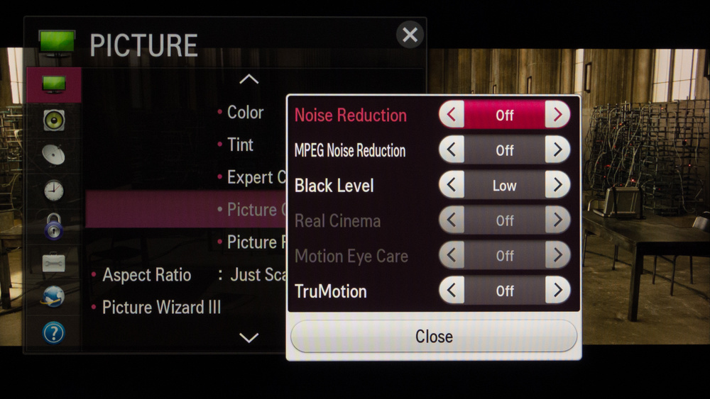 LG LB5800 Calibration Settings 6