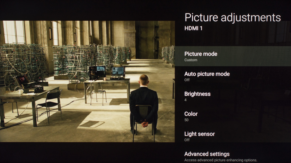 Sony X900E Calibration Settings 1