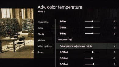 Sony X900E Calibration Settings 13