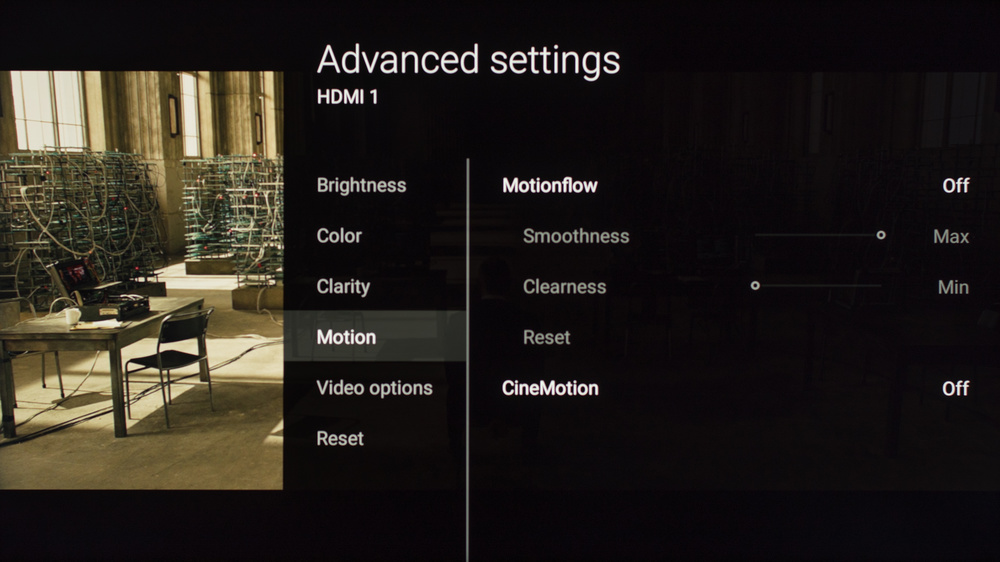 Sony X900E Calibration Settings 4